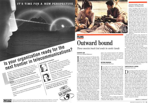 Article Preview: Outward bound, August 1995 | Maclean's