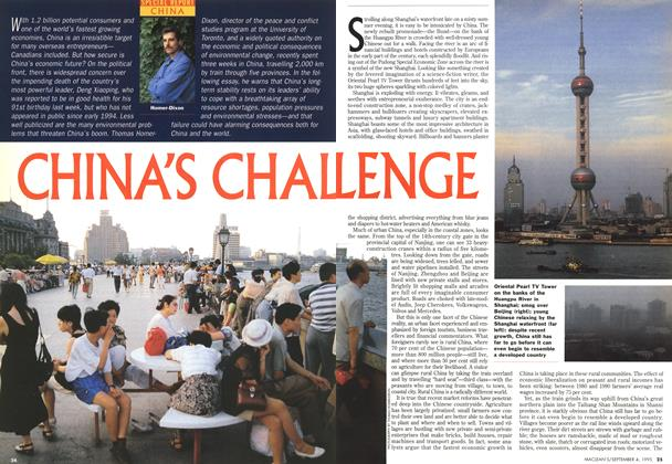 Article Preview: CHINA'S CHALLENGE, September 1995 | Maclean's
