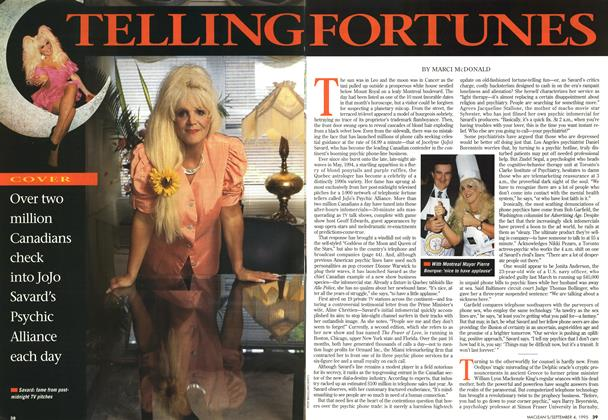 Article Preview: TELLING FOTUNES, September 1995 | Maclean's