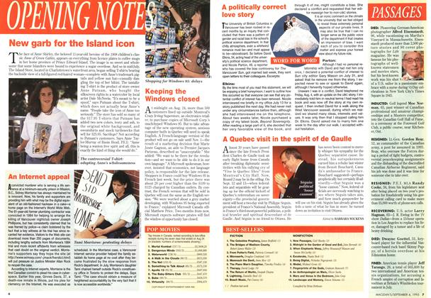 Article Preview: BEST-SELLERS, September 1995 | Maclean's