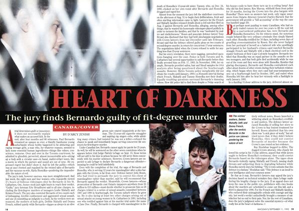 Article Preview: HEART OF DARKNESS, September 1995 | Maclean's