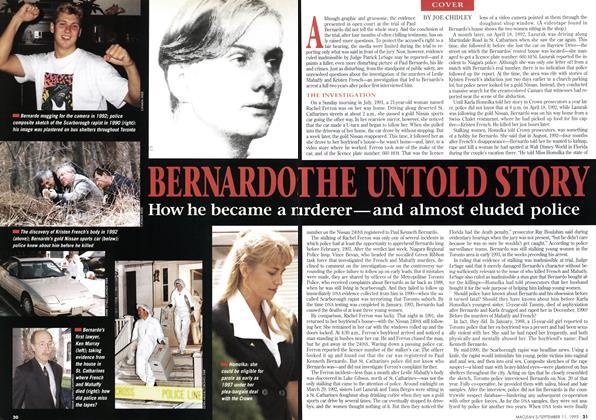 Article Preview: BERNARDO THE UNTOLD STORY, September 1995   Maclean's