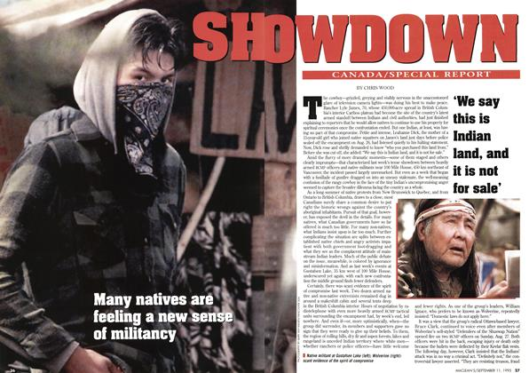 Article Preview: SHOWDOWN, September 1995 | Maclean's