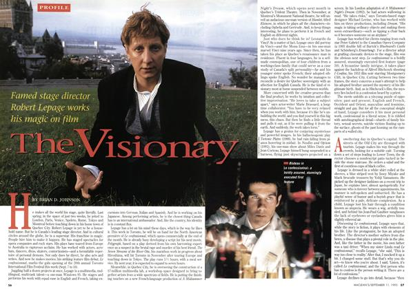 Article Preview: The Visionary, September 1995 | Maclean's