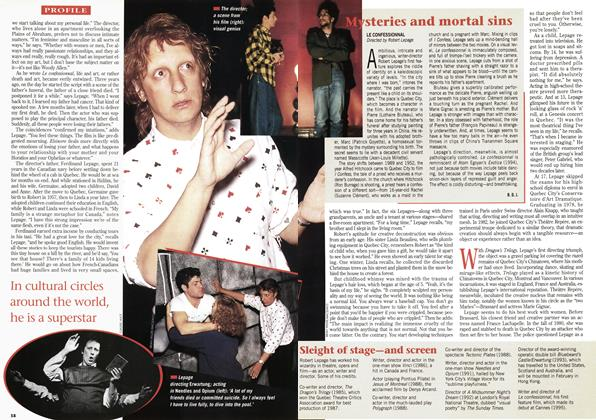 Article Preview: Mysteries and mortal sins, September 1995 | Maclean's