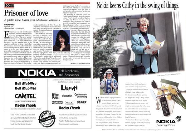Article Preview: Prisoner of love, September 1995 | Maclean's