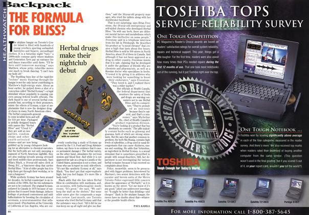 Article Preview: THE FORMULA FOR BLISS?, September 1995 | Maclean's
