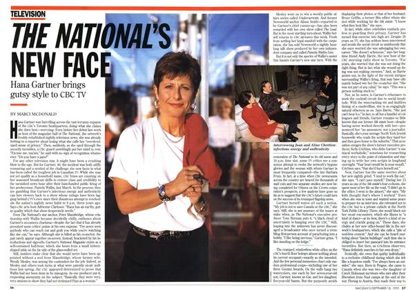 Article Preview: THE NATIONAL'S NEW FACE, September 1995 | Maclean's