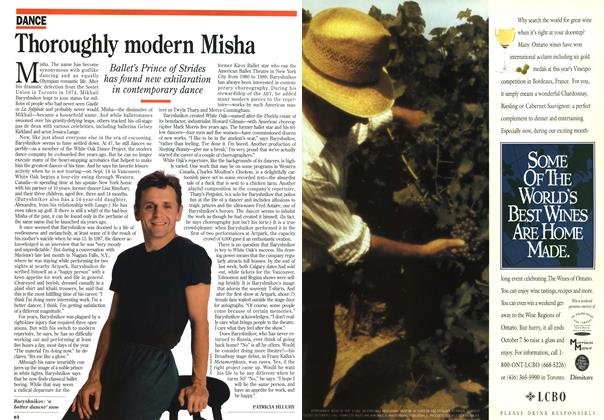 Article Preview: Thoroughly modern Misha, September 1995 | Maclean's