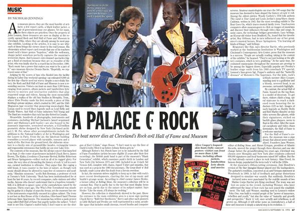 Article Preview: A PALACE OF ROCK, September 1995 | Maclean's