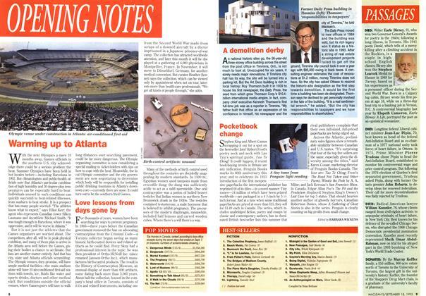 Article Preview: BEST-SELLERS, September 1995 | Maclean's