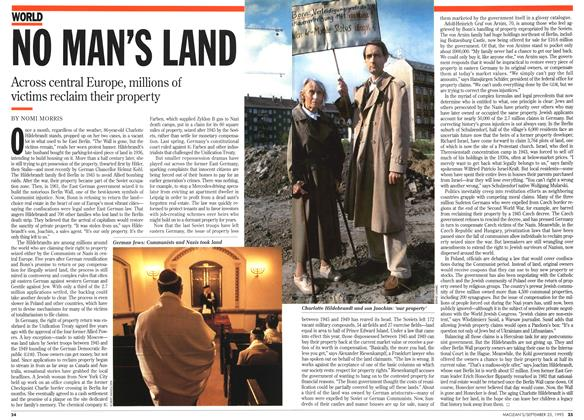 Article Preview: NO MAN'S LAND, September 1995 | Maclean's
