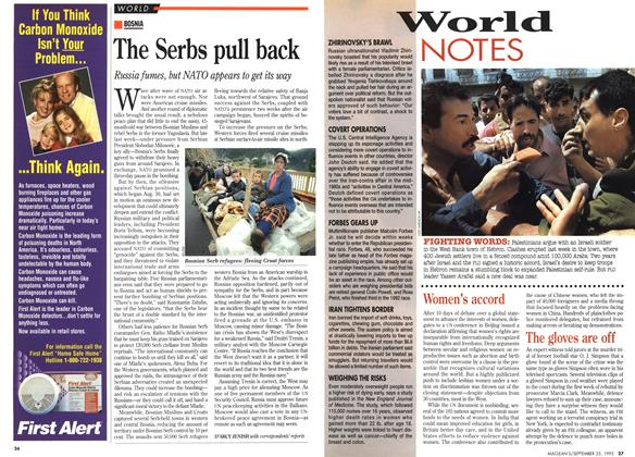 Article Preview: World NOTES, September 1995 | Maclean's