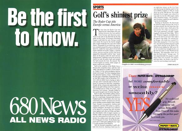 Article Preview: Golf's shiniest prize, September 1995 | Maclean's