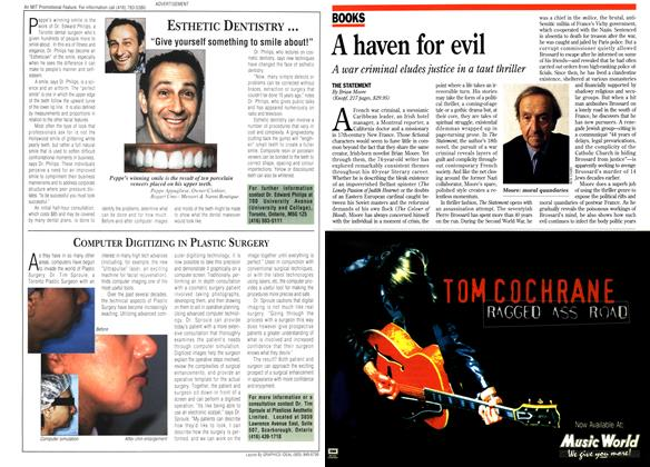 Article Preview: A haven for evil, September 1995 | Maclean's