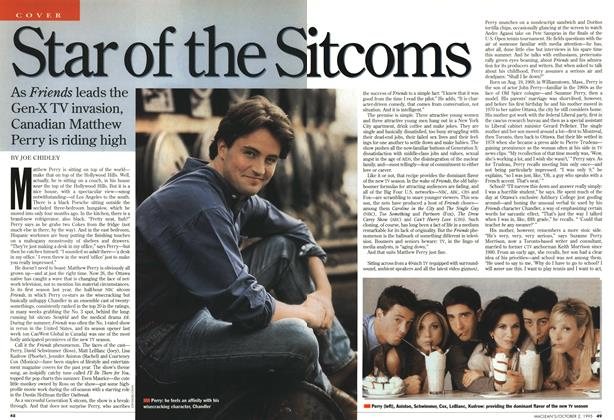 Article Preview: Star of the Sitcoms, October 1995 | Maclean's