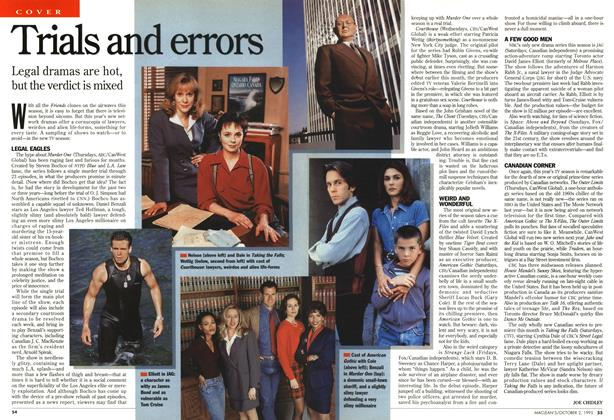 Article Preview: Trials and errors, October 1995 | Maclean's