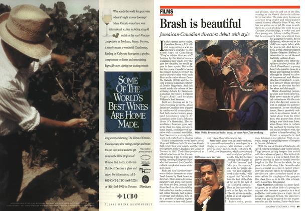 Article Preview: Brash is beautiful, October 1995 | Maclean's