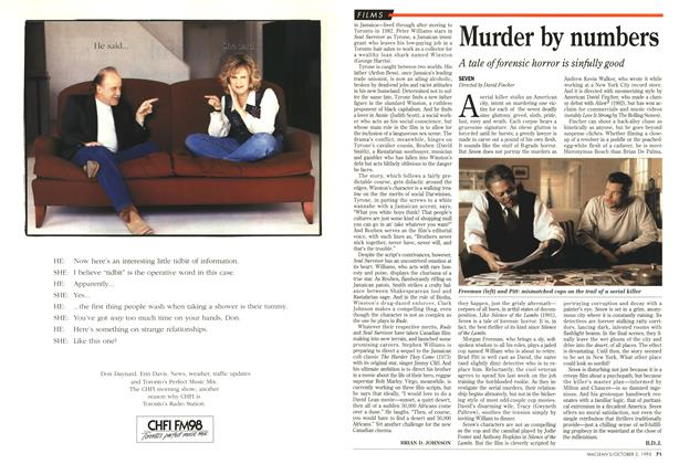 Article Preview: Murder by numbers, October 1995 | Maclean's