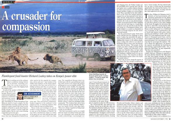Article Preview: A crusader for compassion, October 1995 | Maclean's
