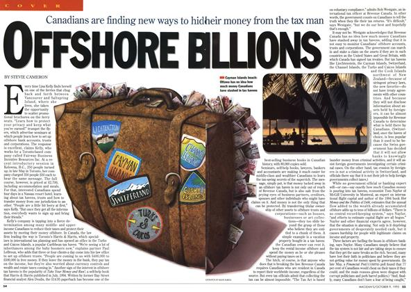 Article Preview: OFFSHORE B ILLIONS, October 1995 | Maclean's