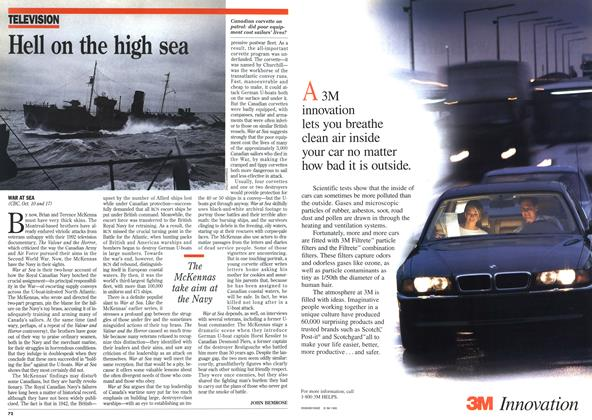 Article Preview: Hell on the high sea, October 1995 | Maclean's