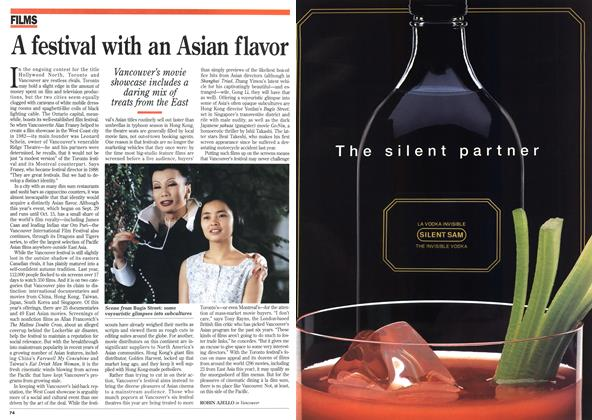 Article Preview: A festival with an Asian flavor, October 1995 | Maclean's