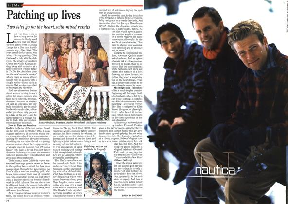 Article Preview: Patching up lives, October 1995 | Maclean's