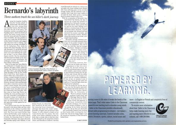 Article Preview: Bernardo's labyrinth, October 1995 | Maclean's