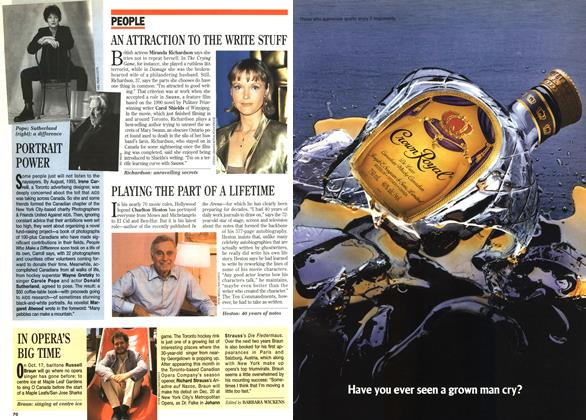 Article Preview: PEOPLE, October 1995   Maclean's