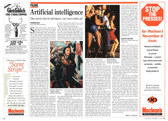 Article Preview: Artificial intelligence, October 1995 | Maclean's