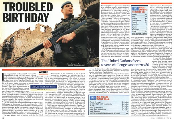 Article Preview: TROUBLED BIRTHDAY, October 1995 | Maclean's