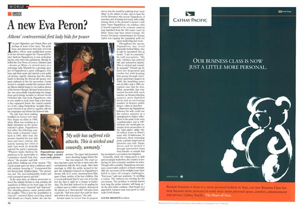 Article Preview: A new Eva Peron?, October 1995 | Maclean's