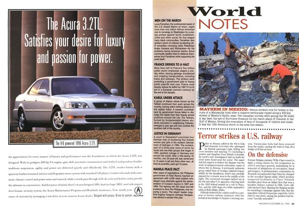 Article Preview: World NOTES, October 1995 | Maclean's