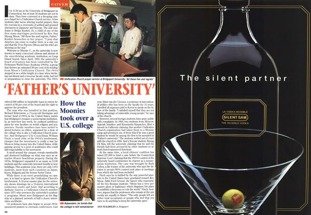 Article Preview: 'FATHER'S UNIVERSITY', October 1995 | Maclean's