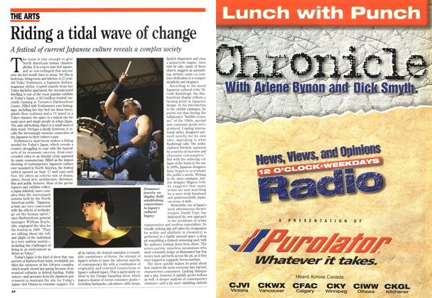 Article Preview: Riding a tidal wave of change, October 1995 | Maclean's