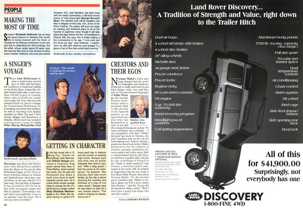 Article Preview: PEOPLE, November 1995 | Maclean's