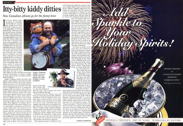 Article Preview: Itty-bitty kiddy ditties, November 1995 | Maclean's