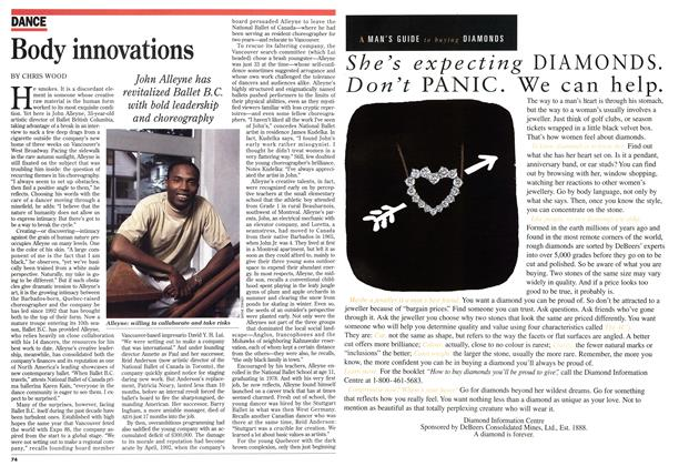 Article Preview: Body innovations, November 1995 | Maclean's