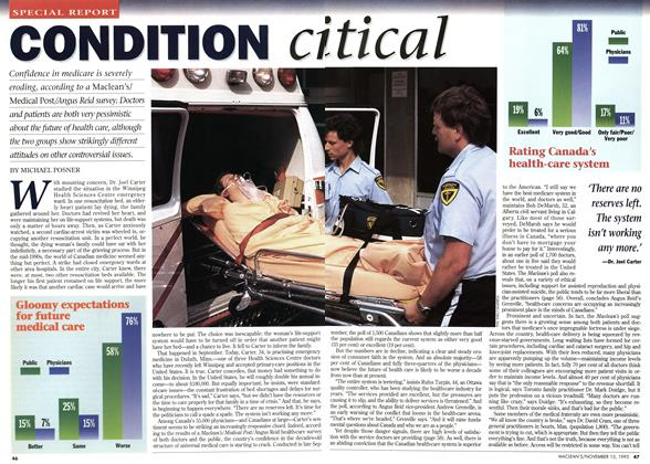 Article Preview: CONDITION critical, November 1995 | Maclean's