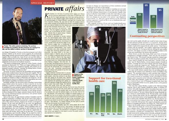 Article Preview: PRIVATE affairs, November 1995 | Maclean's