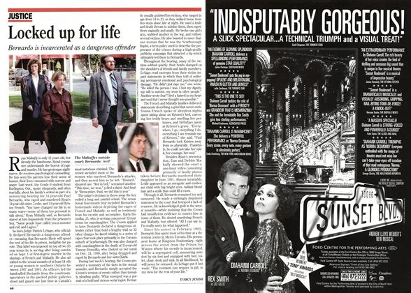 Article Preview: Locked up for life, November 1995 | Maclean's