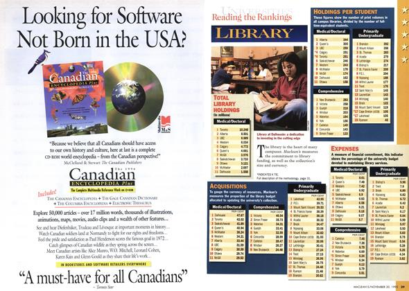 Article Preview: Advertisement, November 1995 | Maclean's