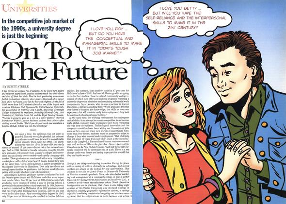 Article Preview: On To The Future, November 1995 | Maclean's