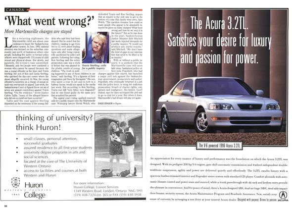 Article Preview: 'What went wrong?', November 1995 | Maclean's