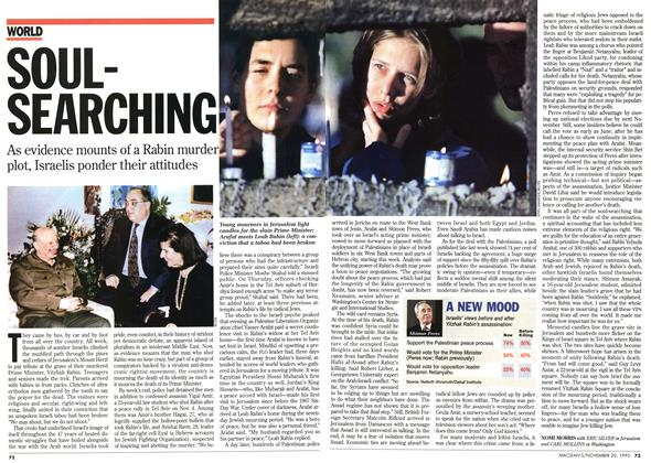 Article Preview: SOULSEARCHING, November 1995 | Maclean's