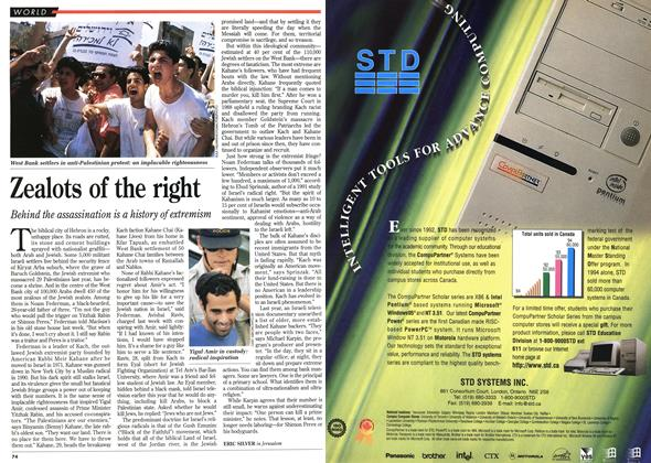 Article Preview: Zealots of the right, November 1995 | Maclean's