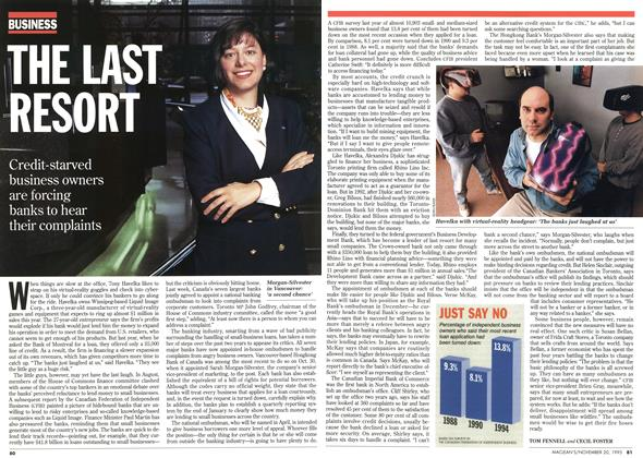Article Preview: THE LAST RESORT, November 1995 | Maclean's