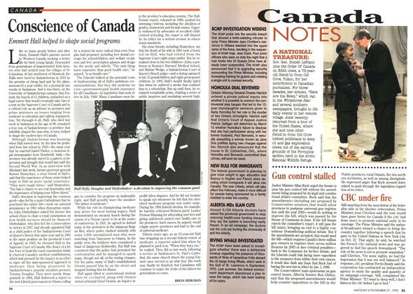 Article Preview: Conscience of Canada, November 1995 | Maclean's