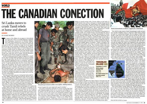 Article Preview: THE CANADIAN CONECTION, November 1995 | Maclean's